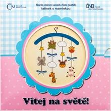 Sada oběžných mincí ČR 2015 Narození dítěte Standard