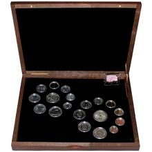 Exkluzívna sada obežných mincí 1989 Pád Berlínského múru 25. výročie 2014 Štandard