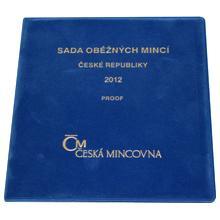 Sada oběžných mincí ČR 2012 Proof/semiš