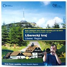 Sada oběžných mincí ČR 2013 Liberecký kraj Standard