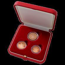 Sada obežných mincí 2005 Monaco Eurocents Proof