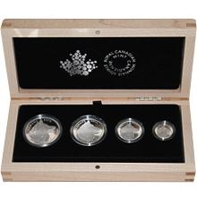 Vlk Sada stříbrných mincí 2016 Proof (.9999)