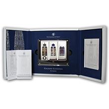 Kolínský dóm Okna Tří králů Sada stříbrných mincí 2014 Proof