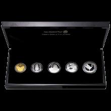 Sada stříbrných mincí Novozélandské oběžné mince 2012 Proof