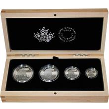 Orel bělohlavý Sada stříbrných mincí 2015 Proof (.9999)