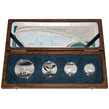 Peace Parks Maloti-Drakensberg Exkluzivní sada stříbrných mincí 2009 Proof