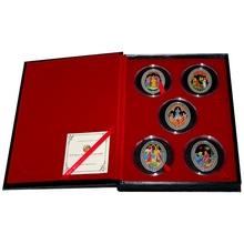 Pohádky Alexandra Puškina Sada stříbrných mincí 2009 Proof