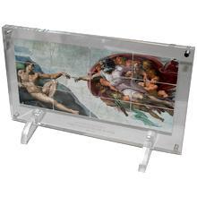 Michelangelo Stvoření Adama Sada stříbrných mincí Velikáni umění 2013 Proof