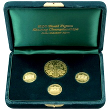 Wiener Philharmoniker Sada zlatých mincí 1993