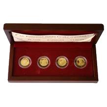 Sada zlatých medailí Památná místa České republiky 2010 PROOF