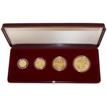 Zlatá minca Sada Koruna Česká 1995 Štandard