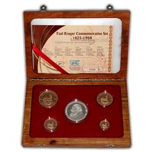 Krugerrand 2004 Exkluzivní sada zlatých mincí Paul Kruger 100. výročí úmrtí Proof