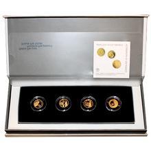 Matky v Bibli Sada 4 nejmenších zlatých medailí Izrael 2008 Proof