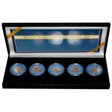 Sovereign British Empire sada zlatých mincí Král Jiří V. 1911 - 1930 Standard