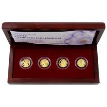 Sada čtyř zlatých medailí Pocta Oldřichu Kulhánkovi 2013 Proof