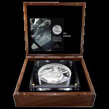 Stříbrná mince 5 Kg The Spirit of Haida Gwaii Proof 2012 (.9999)