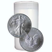 Stříbrná investiční mince American Eagle 1 Oz - Investiční Paket 20 Kusů