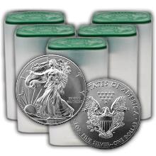 Stříbrná investiční mince American Eagle 1 Oz - Investiční Paket 100 Kusů