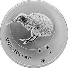 Stříbrná investiční mince Kiwi 1 Oz 2010