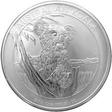 Stříbrná investiční mince Koala 10 Oz
