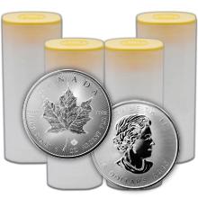 Stříbrná investiční mince Maple Leaf 1 Oz - Investiční Paket 100 Kusů