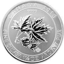 Strieborná investičná minca Multi-Maple Leaf Superleaf 1,5 Oz