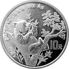 Strieborná investičná minca 1 Oz 1995