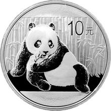 Stříbrná investiční mince Panda 1 Oz