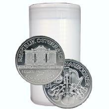 Stříbrná investiční mince Wiener Philharmoniker 1 Oz - Investiční Paket 20 Kusů