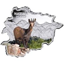 Stříbrná mince Kamzík horský Andorra Natura 1 Oz 2013 Proof