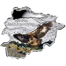 Stříbrná mince Orel skalní Andorra Natura 1 Oz 2013 Proof