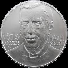 Stříbrná investiční medaile 1 Kg Václav Havel 2012 Standard