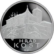 Stříbrná medaile Hrad Kost 2013 Proof