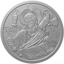 Stříbrná medaile apoštol Jan 2012 Standard