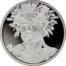 Stříbrná medaile Giuseppe Arcimboldo 1 Oz 2009 Proof