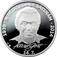Stříbrná medaile Karel Gott 2013 Proof