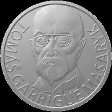 Stříbrná medaile T.G. Masaryk 75 let od úmrtí 2012 Proof