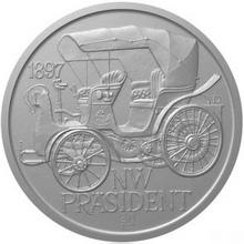 Stříbrná medaile NW Präsident 2012 Standard