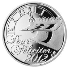 Stříbrná medaile Pour Feliciter 2013 Proof