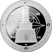 Stříbrná medaile Rozhledna Babylon 2014 Proof