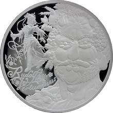 Giuseppe Arcimboldo Rudolf II. Vertumnus stříbrná medaile 42 g 2009 Proof