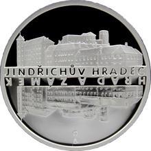Stříbrná medaile Zámek Jindřichův Hradec 2013 Proof