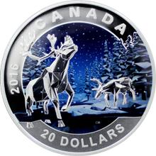 Stříbrná mince Karibu 1 Oz Geometry in Art 2016 Proof (.9999)