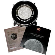 1kg Aztécký kalendář Stříbrná mince 2013 Proof