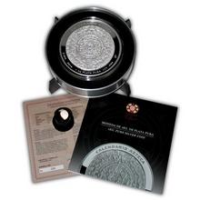 1kg Aztécký kalendář Stříbrná mince 2014 Proof