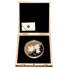 Stříbrná mince 1 Kg Maple Leaf Forever 2011 Proof (.9999)