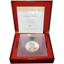Stříbrná mince 2 Kg Augustus Caesar 2000. výročí úmrtí 2014 Proof