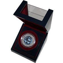 Stříbrná mince 3 Oz Year of the Goat Rok Kozy 2015 Achát Standard