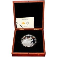 Stříbrná mince 500g Howling Wolf 2014 Proof (.9999)
