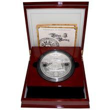 Stříbrná mince 5 Kg Vitus Jonassen Bering 2011 Proof